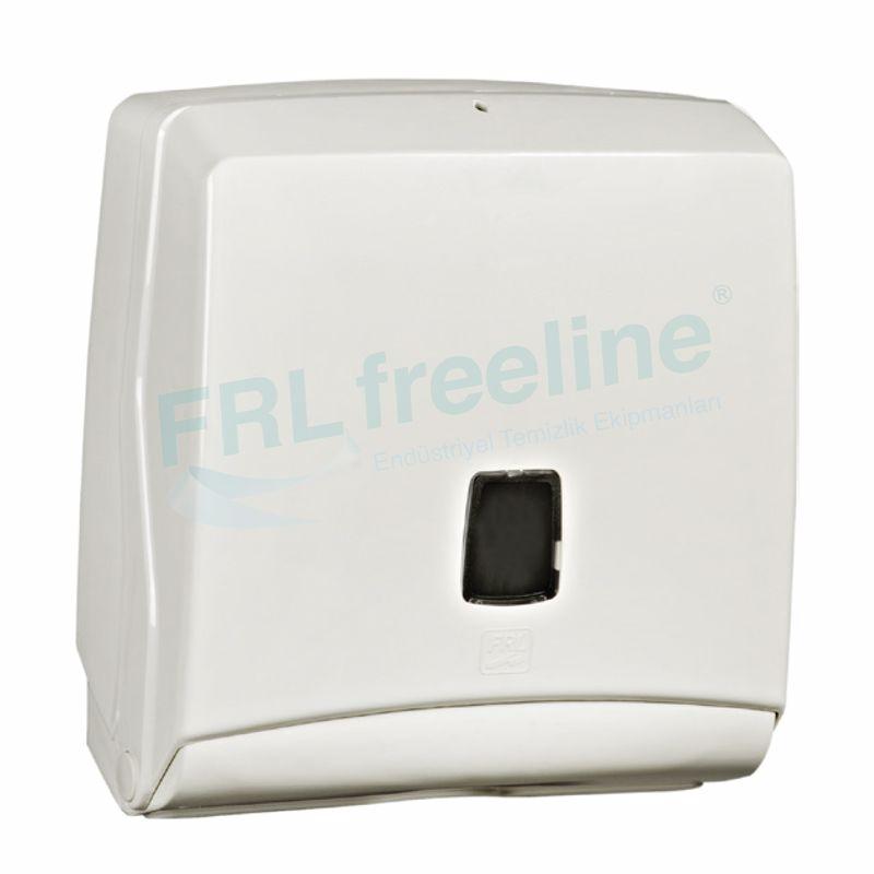 Jumbo Kağıt Havlu Dispenseri(Z-C-V Katlama) Beyaz/Beyaz