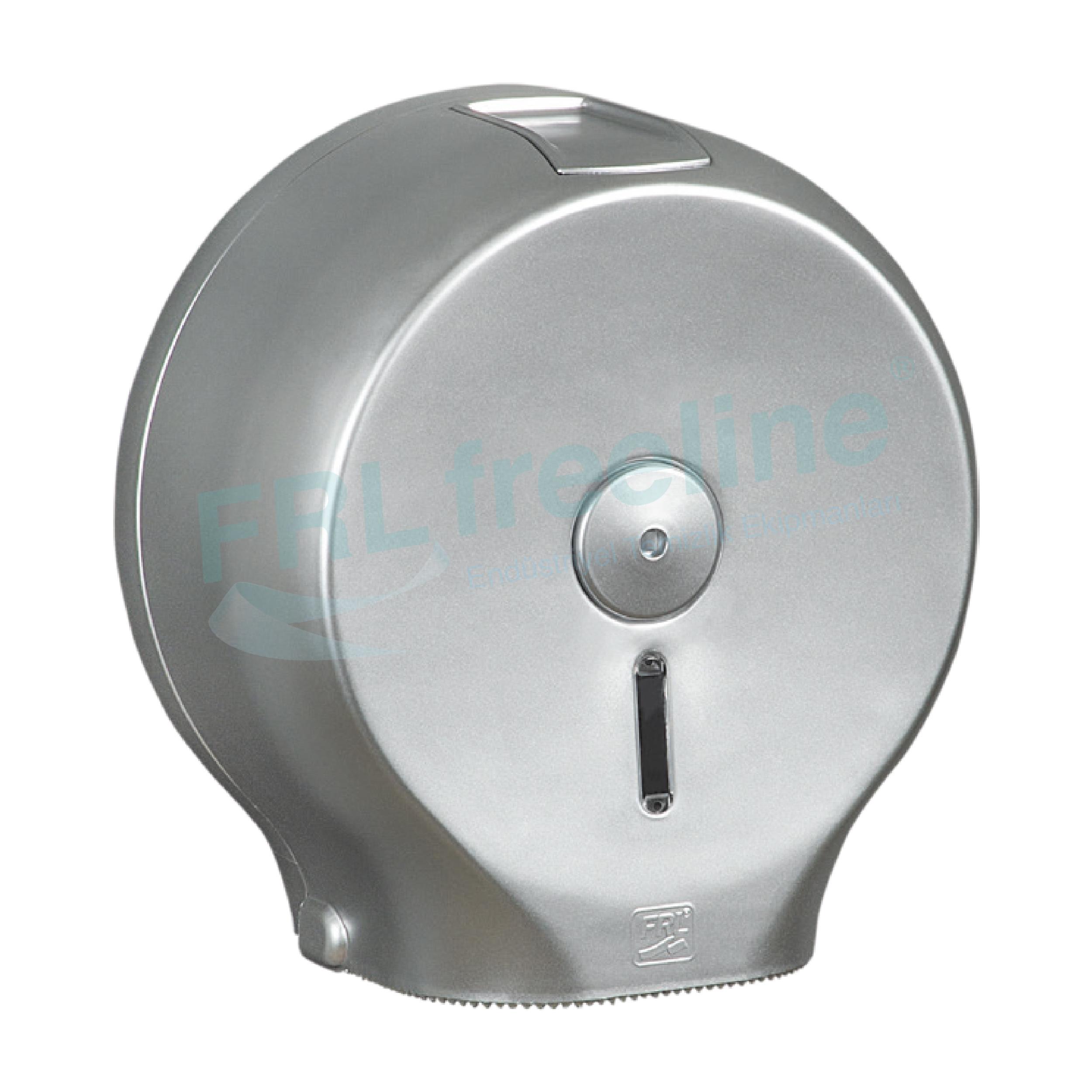Wcroll Tuvalet Kağıt Dispenseri(Jumbo) Gümüş