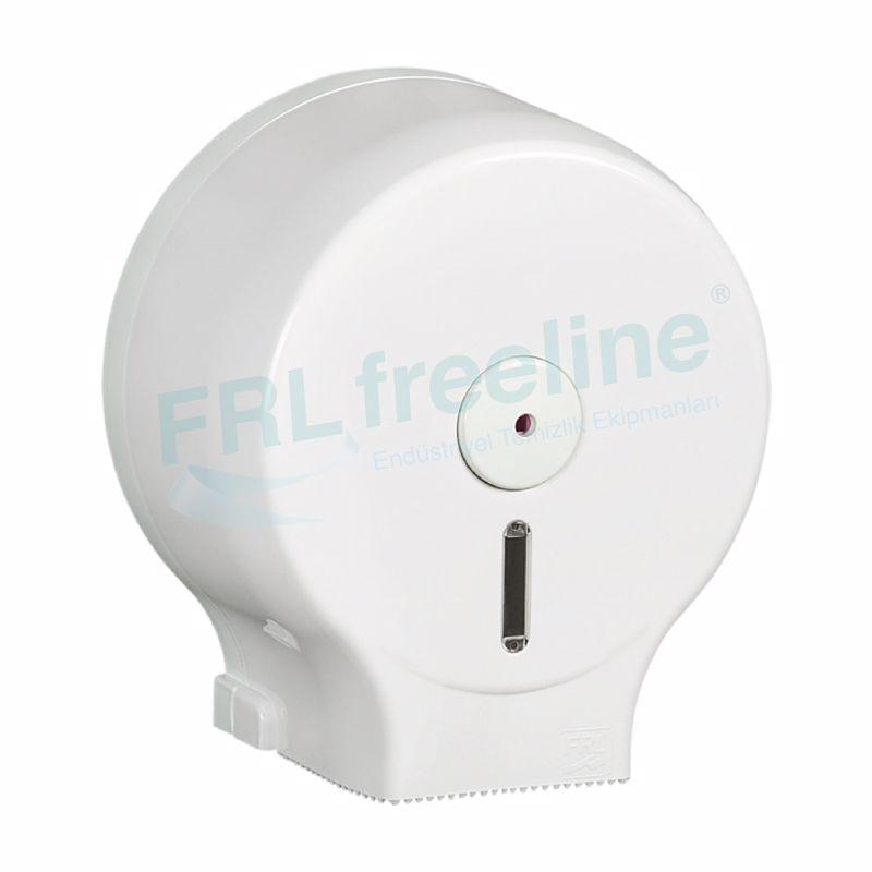 Mini Wcroll Tuvalet Kağıt Dispenseri(Mini Jumbo) Beyaz/Beyaz