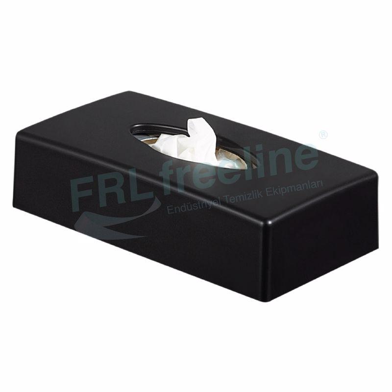 Kağıt Mendil Kutusu Dispenseri Siyah