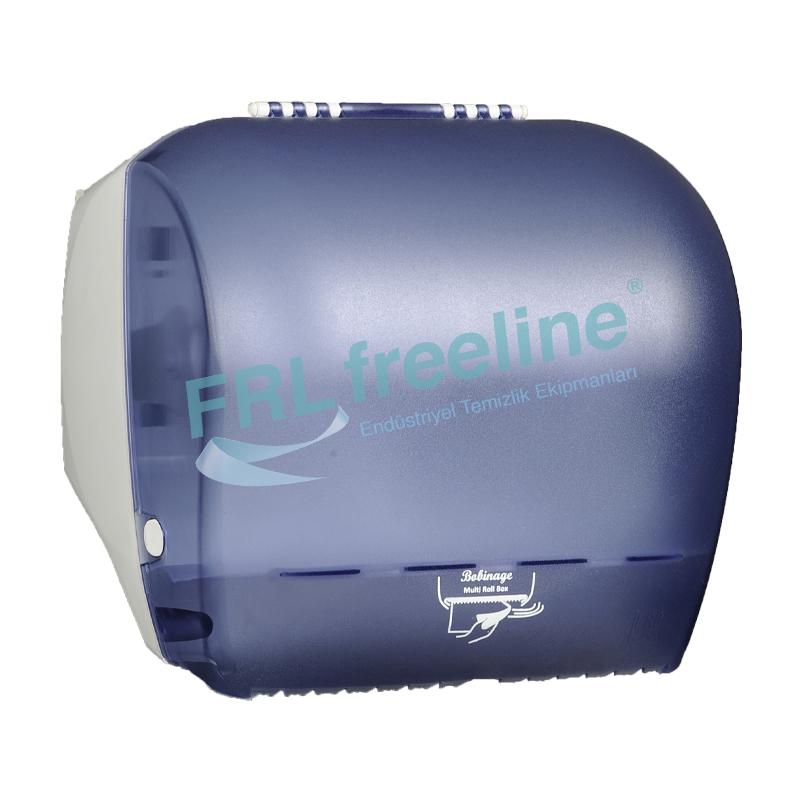 Bobinage Yatay Rulo Havlu Dispenseri Şeffaf/Beyaz