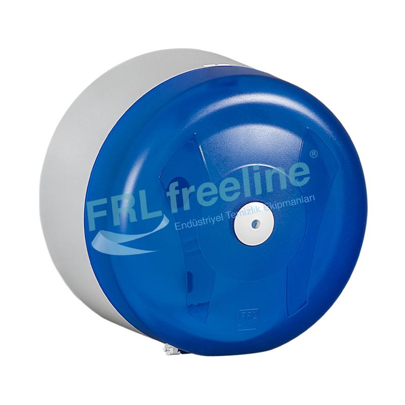 FreeOne Maxi İçten Çekme Tuvalet Kağıt Dispenseri Şeffaf/Beyaz