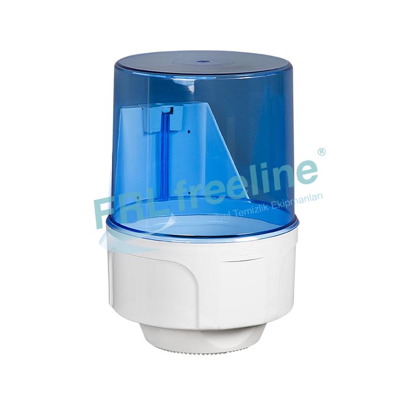 Midiroll İçten Çekme Kağıt Havlu Dispenseri Şeffaf/Beyaz